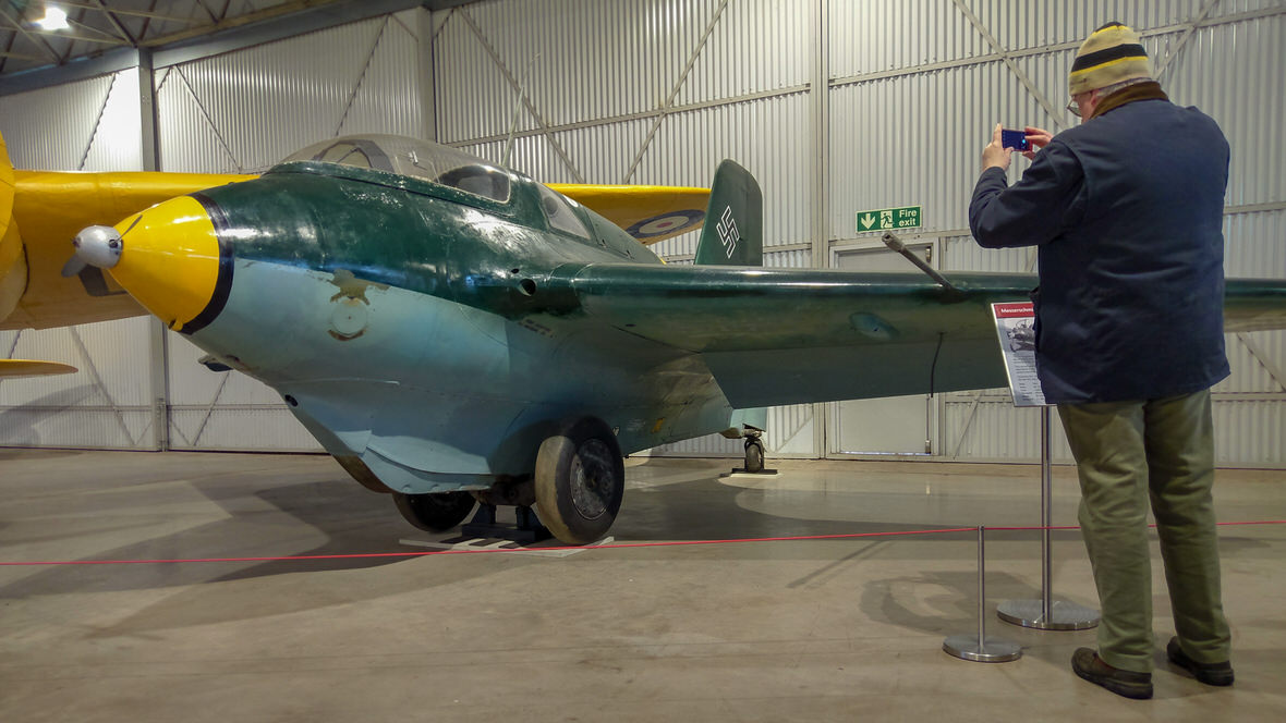 National Museum of Flight, Messerschmitt. Foto: M. Błażejczak