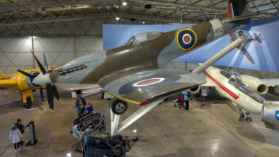 National Museum of Flight, Spitfire. Foto: M. Błażejczak