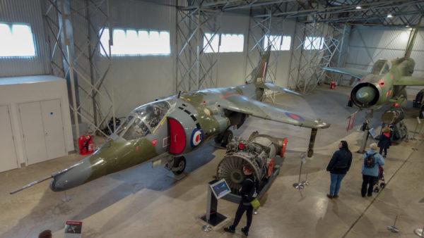 National Museum of Flight, Harrier jump jet. Foto: M. Błażejczak