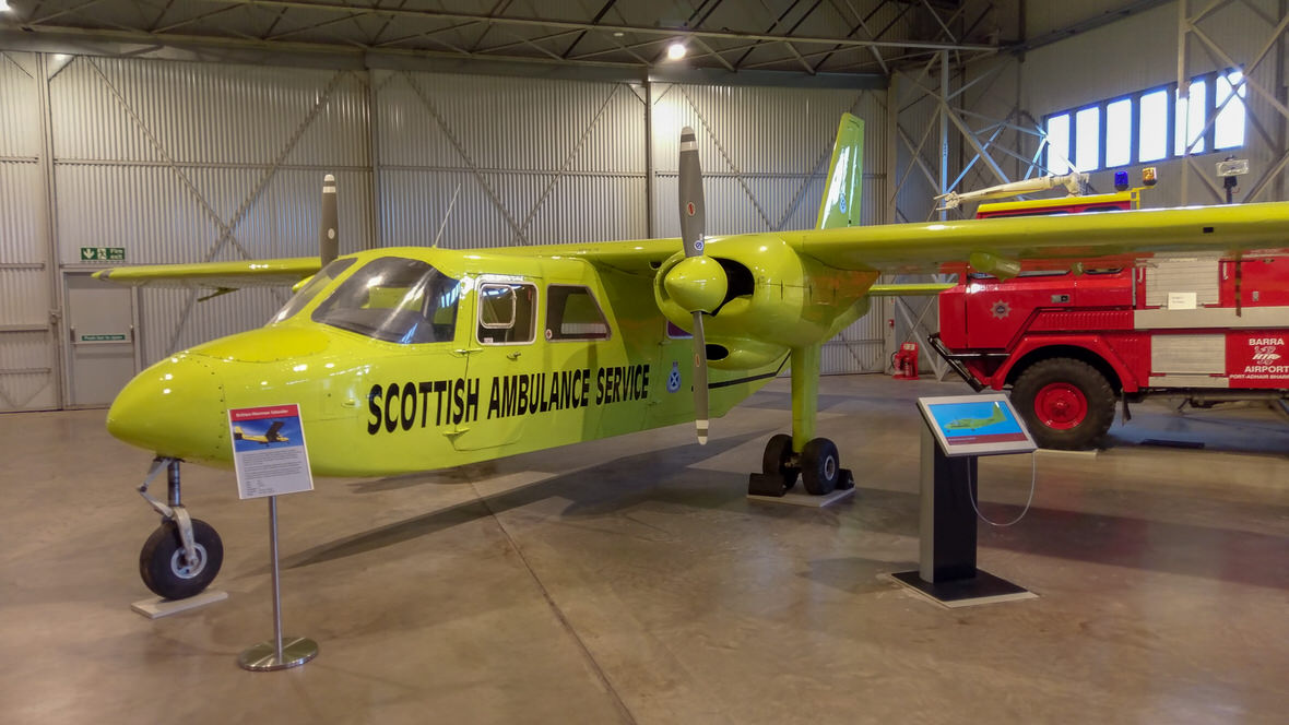 National Museum of Flight, Britten-Norman Islander. Foto: M. Błażejczak