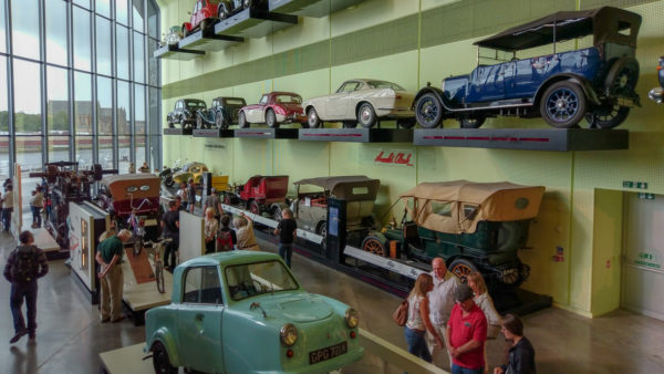 Riverside Museum w Glasgow, foto: M. Błażejczak