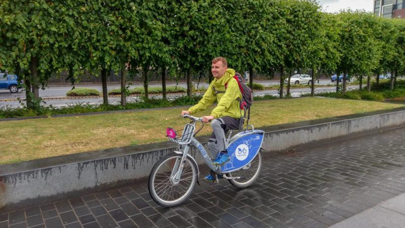 Rowery miejskie w Glasgow, foto: M. Błażejczak