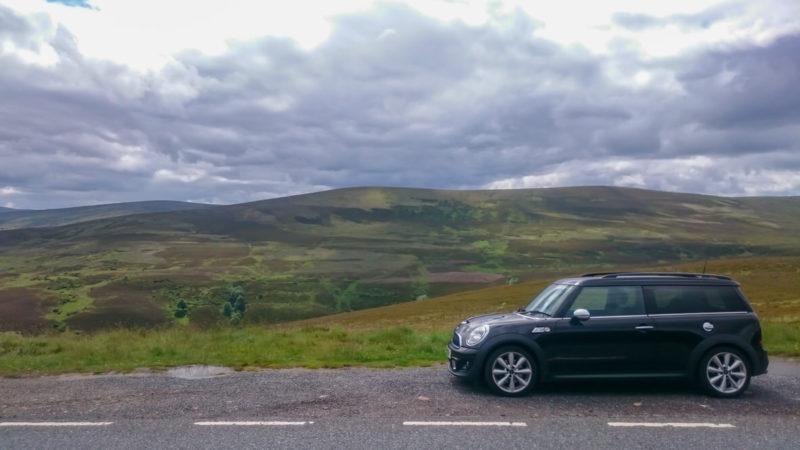 Ubezpieczenie do Szkocji przyda się podczas zwiedzania pieszego i samochodem. Foto: M. Błażejczak.