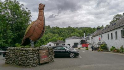 Destylarnia Glenturret, Szkocja. Foto: M. Błażejczak