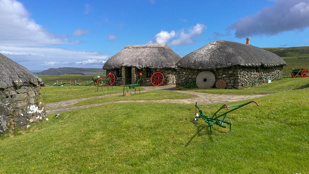 Skye Museum of Island Life, wyspa Skye. Foto: M. Błażejczak