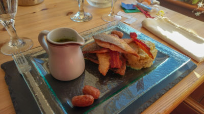 Jedzenie w Szkocji, foto: M. Błażejczak