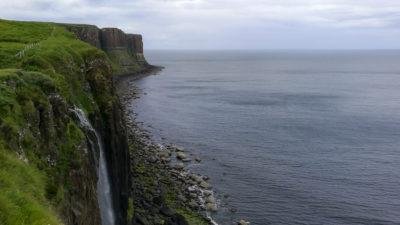 Kilt Rock i Mealt Falls, Wyspa Skye (Szkocja). Foto: M. Błażejczak